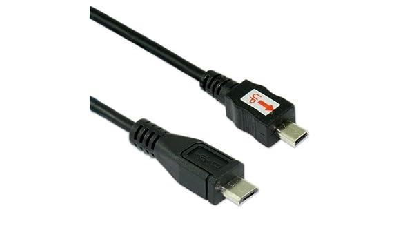 2.0 Mikro-b female zu bis Mini-b Stecker Konverter Adapter Charger Stecker