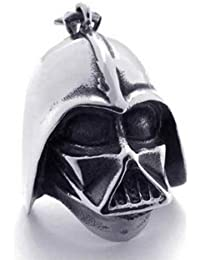 Star Wars Series Darth Vader Robot Head 316l Stainless Steel Necklace Chain Pendant Jewelry New Arrival for Fashion Women - Men High Quality 0061