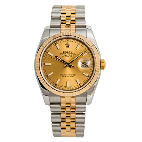 Rolex Datejust Automatic-self-Wind Male Watch 116233 (Certified Pre-Owned)