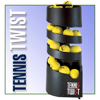 Sports Tutor Tennis Twist AC Power Portable Tennis Ball Machine