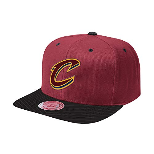 Mitchell & Ness NBA Diamond Snapback Adjustable Hat (Cleveland Cavaliers) (Mitchell Ness Diamond)