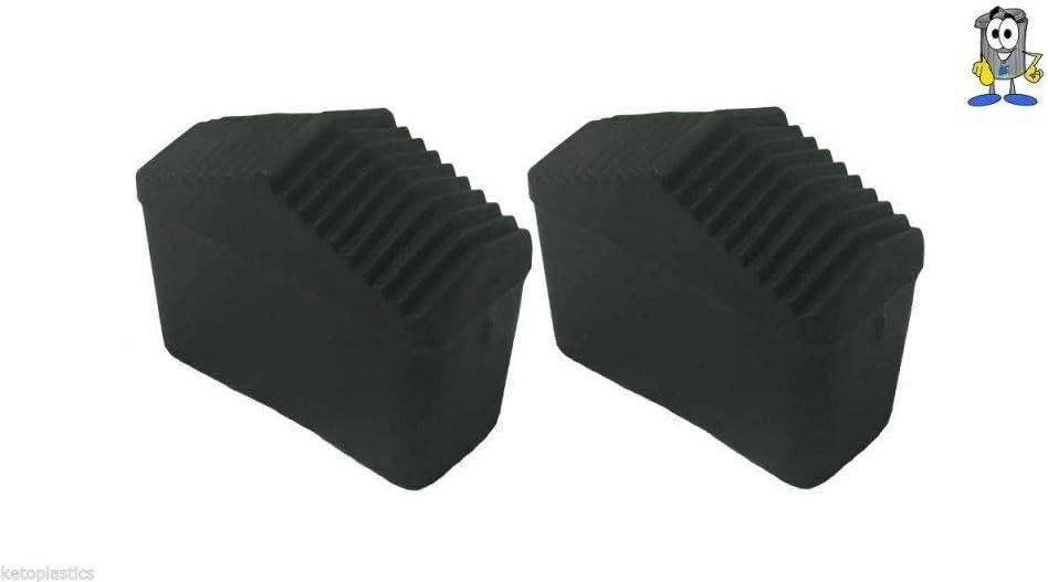 LY Tools - Par de Patas de Repuesto para Escalera (40 mm x 20 mm, Goma): Amazon.es: Hogar