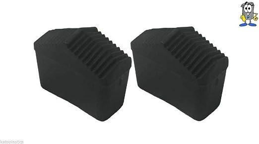 LY Tools - Juego de 2 Patas para Escalera (40 mm x 20 mm, Goma): Amazon.es: Hogar