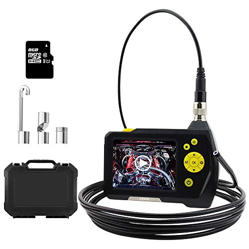 Endoscope Camera 1080P HD Borescope Inspection Camera Pipe, 3.5inch HD LCD Screen with 0.21inch Lens, Waterproof 9.8ft Snake Camera, 2600mAh Lithium Battery Wall Inspection Camera+Tool Box by SHEKAR (Image #8)