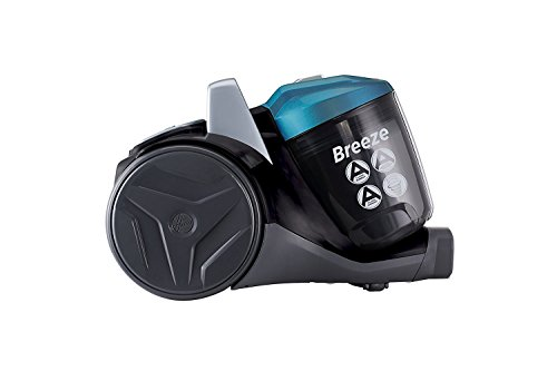 Hoover Breeze Bagless Cylinder Vacuum Cleaner, [BR71BR01], Black &...