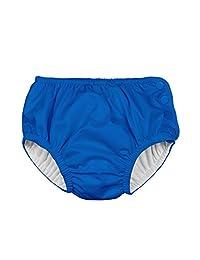 I Play. White Ultimate Snap Swim Diaper