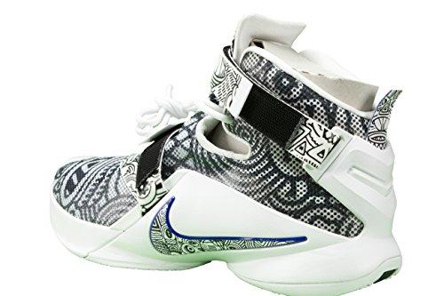 Nike Heren Lebron Soldaat Ix Basketbalschoen Zwart / Wit / Concord