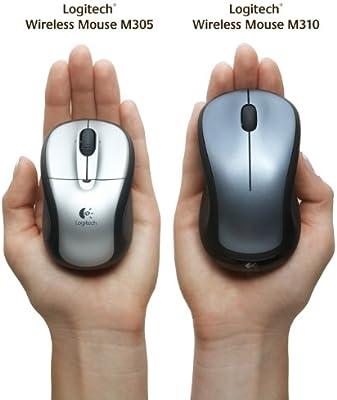 1340ecbc21e Amazon.com: Logitech M310 910-001675 Wireless Mouse (Silver ...