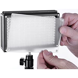 Genaray LED-6500T 209 LED Variable-Color On-Camera Light from Genaray