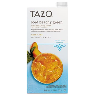 Starbucks Coffee 11041594 Iced Tea Concentrate44; Iced Peachy Green - 32 oz. (Tea Green Ice Starbucks)