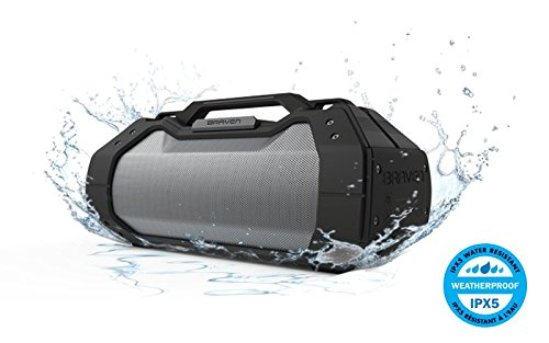 BRAVEN BRV-XXL Large Portable Wireless Bluetooth Speaker [Waterproof][Outdoor] Built-In 15,600mAh Power Bank USB Charger - Black / Titanium by Braven (Image #3)