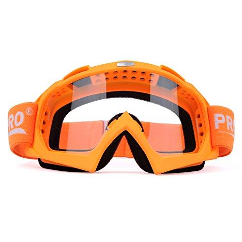 SE7VEN Lunettes De Sécurité,Motoneige Escalade Bicyclette Résistance Au Vent Poussière-proof Lunettes De Ski Unisexe Masques orange