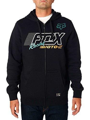 Fox Men's flection Zip Fleece, Black, XXL