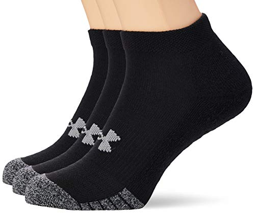 Under Armour Unisex UA Heatgear Locut atmungsaktive Sportsocken, 3er Pack
