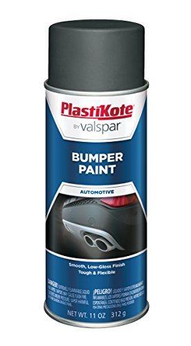PlastiKote 614 Gray Bumper Paint, 11 oz.