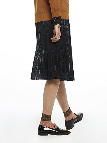 amp; Scotch Skirt Pleated Jupe night 02 Femme Soda Bleu vqqSArdf