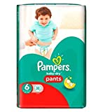 Pampers Baby-Dry Pants Size 6 Essential Pack 32 Nappies