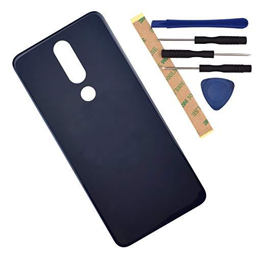 Tapa Trasera Nokia 5.1 Plus Negra TA-1120 TA-1105 TA-1102