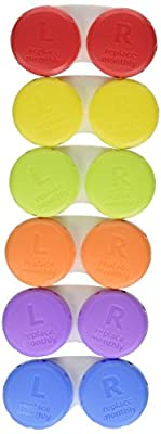 Meijer Contact Lens Cases 6-Pack