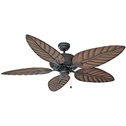 "Design House 154104 Martinique Indoor/Outdoor Ceiling Fan 52"", Oil Rubbed Bronze"