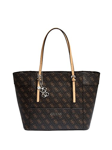 GUESS Delaney Small Classic Tote, Brown