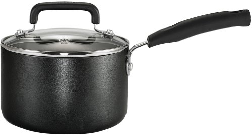 T-Fal Signature 3-Quart Sauce Pan, Model C1192464, Black, 1