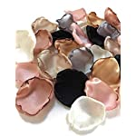 Blush-pink-silver-ivory-champagne-black-gold-and-rose-quartz-mix-of-100-flower-petals