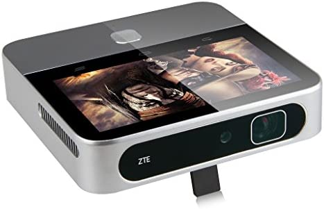 ZTE SPro 2 MF97G - Mini Proyector WiFi (200 Lúmenes, RAM 2GB, ROM ...