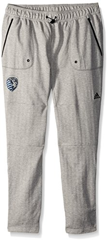 MLS Sporting KC Ultimate Worn French Terry Jogger Pants, Medium, Medium Grey