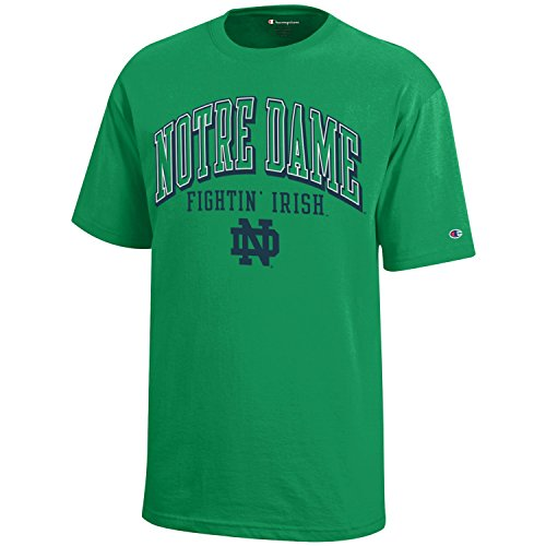 NCAA Champion Boy's Short Sleeve Jersey T-Shirt Notre Dame Fighting Irish ()