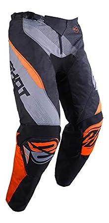 Taille 8//9a Noir//N/éon Orange SHOT Pantalon Cross Kid Devo Ultimate