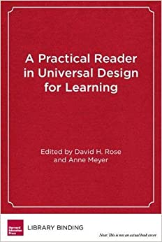 Book A Practical Reader in Universal Design for Learning