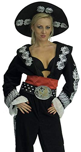 InCogneato Women's The Three Amigos Deluxe Costume -
