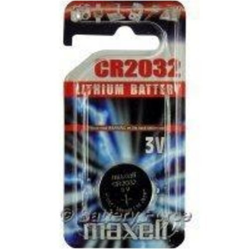 Connector 3 Volt Lithium Battery (Maxell-1 Cr2032 3 Volt Lithium)