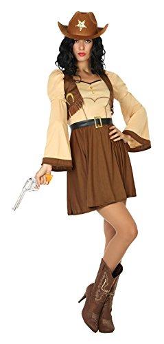 Atosa-17949 Disfraz Vaquera Color marrón XS-S (17949  Amazon.es  Juguetes y  juegos 9bfe74d4790