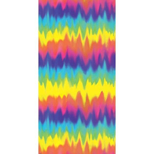 Amscan 670150 Groovy 60's Party Colorful Tie Dye