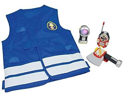 Sam El Bombero - Set de disfraz (Simba 9250745): Amazon.es: Juguetes y juegos