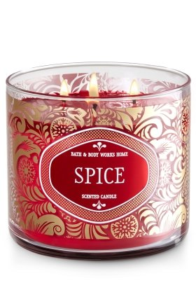Spice 3-wick Scented Candle B01NCNAV41