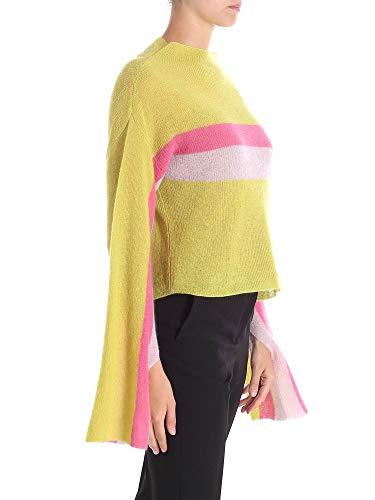 Jersey Amarillo Lana F8ad05717pp Mujer Conti Liviana CqnPwOZ1