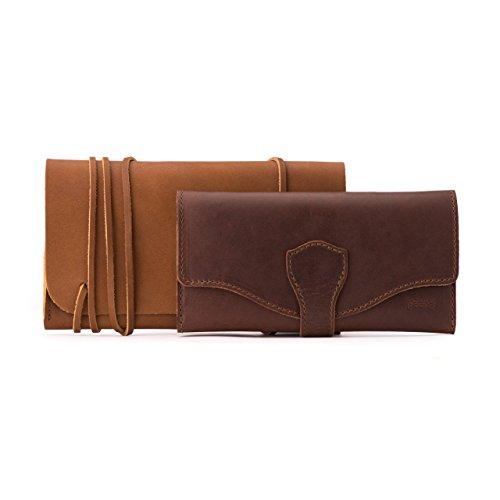 ba28bfed488d4 Saddleback Leather Long Trifold Wallet - 100% Full Grain Leather ...