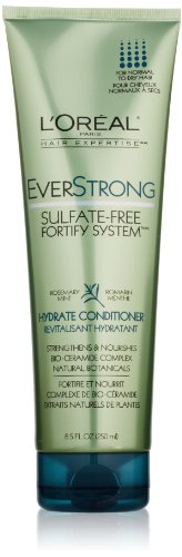 L'Oreal Paris EverStrong Sulfate-Free Fortify System Hydrate Conditioner, 8.5 Fluid Ounce