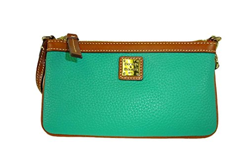 dooney-bourke-spearmint-green-wristlet-zr111-sp