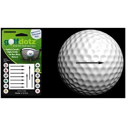Amazon.com: Golfdotz pelota de golf transferencias ...