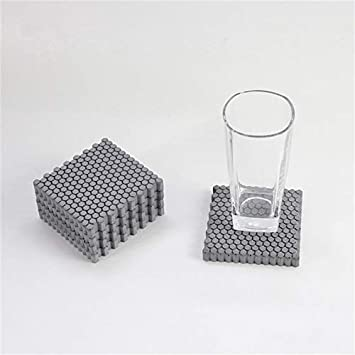 Nicole Soap Dish Silicone Mold DIY Silicone Coaster Resin Molds Square Mold for Resin Cement Home Decoration Concrete