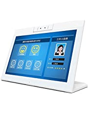 YINUO HSD1411T Touch Screen All in One PC with Holder, 14 inch, 2GB+16GB, Android 8.1 RK3288 Cortex A17 Quad Core Up to 1.8GHz, Support Bluetooth & WiFi & RJ45 & TF Card(32GB Max) & HDMI (White)