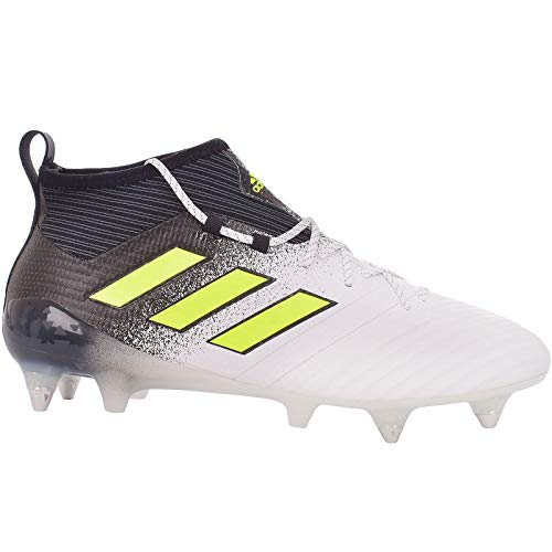 (adidas Ace 17.1 SG Mens Soft Ground Soccer Boots/Cleats-White-8)