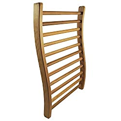 HSE Cedar S-Shape Sauna Backrest for Infrared and Traditional Saunas