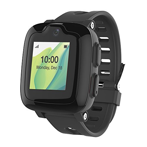 Smart Watch Phone for Kids - Ultimate 3G Smartwatch with GPS Tracker, Touchscreen, Camera, Touch SOS Remote Alarm, Fitness Trackers, Waterproof Cell Phone Watches for Girls Boys by myFirst Fone-Black by Oaxis (Image #7)
