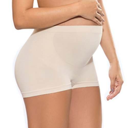 Annette Women's Soft & Seamless Pregnancy Panty – Boyshort