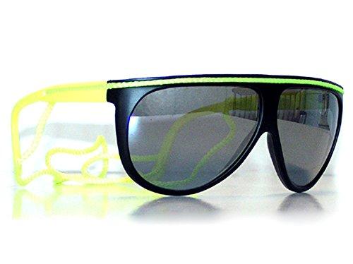New Lunettes Kultpiercing nbsp;– Tedd Wave Noir De Soleil nbsp;aérobic Haze jaune 41wxxnYCfq